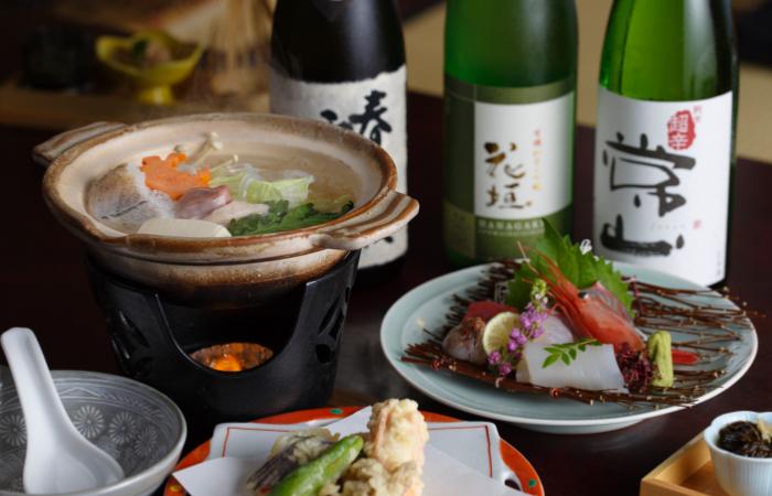 日本海の冬鍋コース