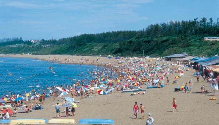 浜地海水浴場